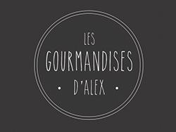 création logo charte graphique Restaurant Salon de thé Les gourmandises d'Alex Annecy