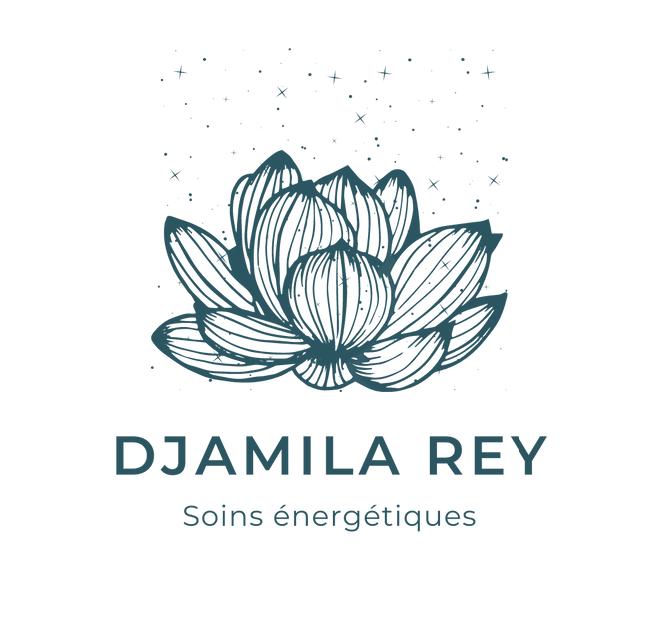 création logo charte graphique Djamila Rey soins massages Genève