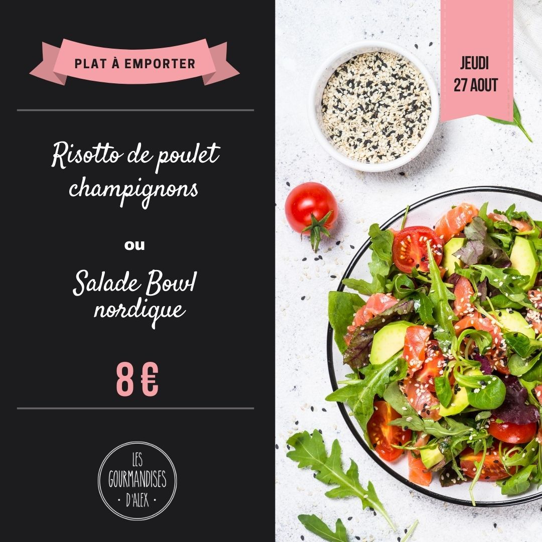 Les Gourmandises d'Alex restaurant Salon de thé Annecy contenu pour réseaux sociaux facebook instagram publication post Marwee consultant web Cruseilles